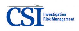 CSI Investigations logo