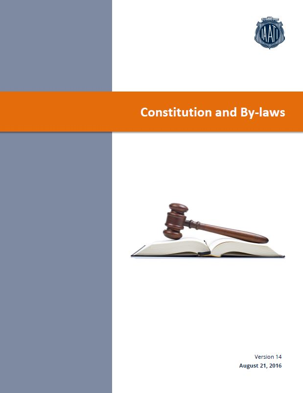 Cover image of Constitution document