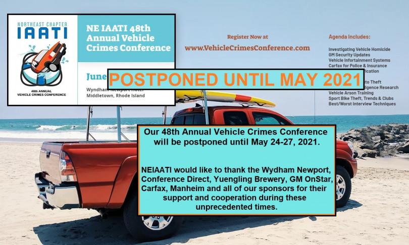 48th Annual Postponed
