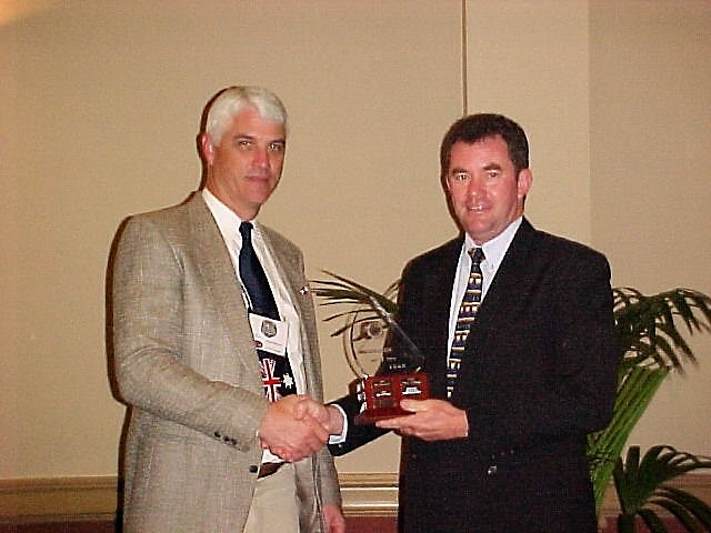 2003 Member of the Year - Keith Schmidt