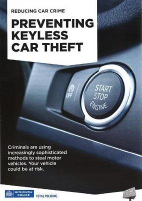 Keyless Car theft