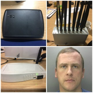 Relay device captured by West Midlands Police