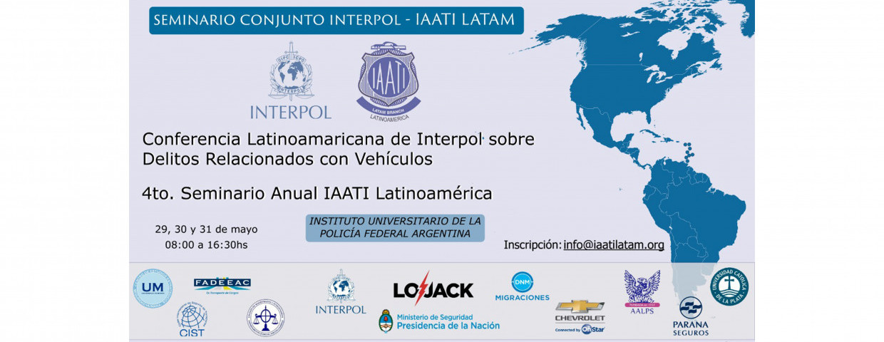 2019 Latin American Branch Annual Training Seminar with INTERPOL