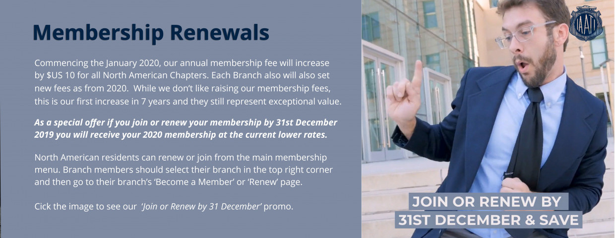 Join or Renew by 31 December and Save
