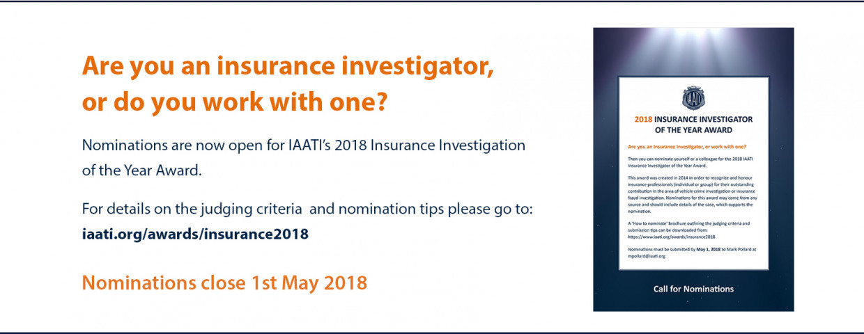 2018 Insurance Awards - Call for nominations