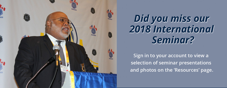 Image for Slideshow _2018 Int Seminar Presentations and photos