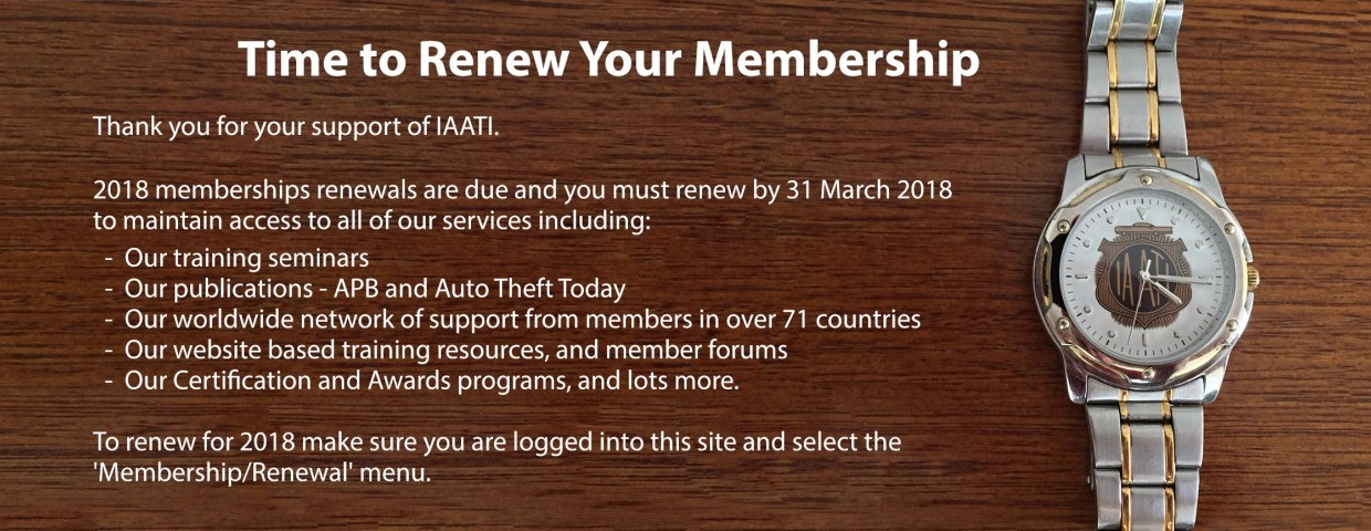 membership renewal slideshow