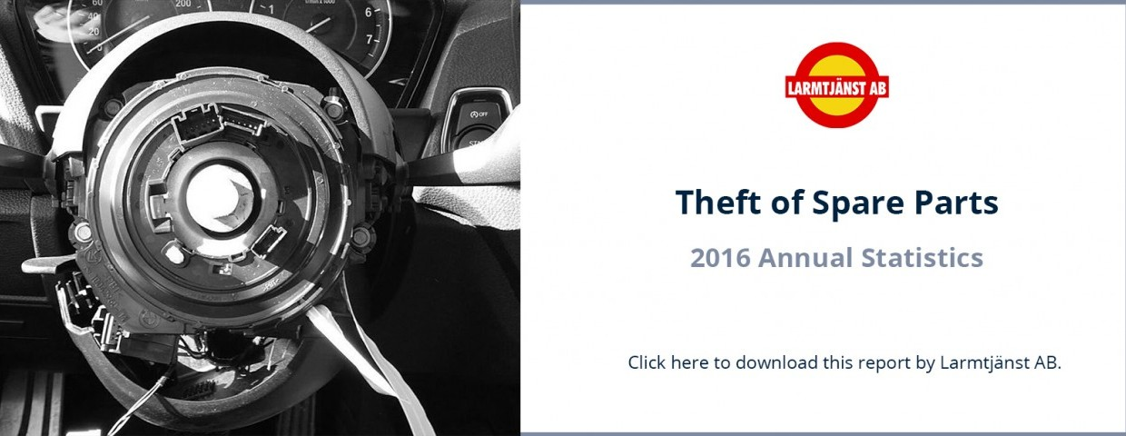Larmtjanst AB 2017 Report of Theft of Spare Parts